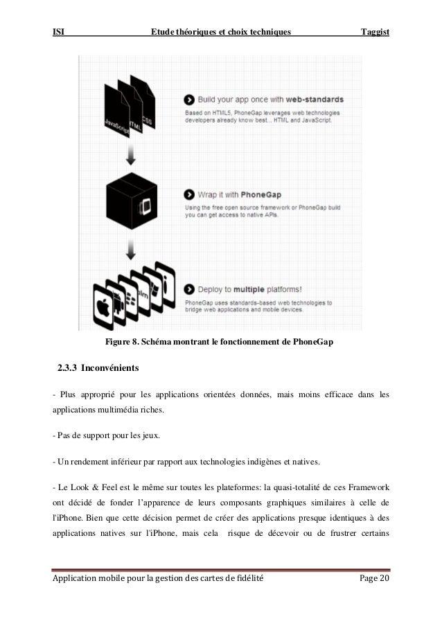 ISI Etude théoriques et choix techniques Taggist Application mobile pour la gestion des cartes de fidélité Page 20 Figure ...