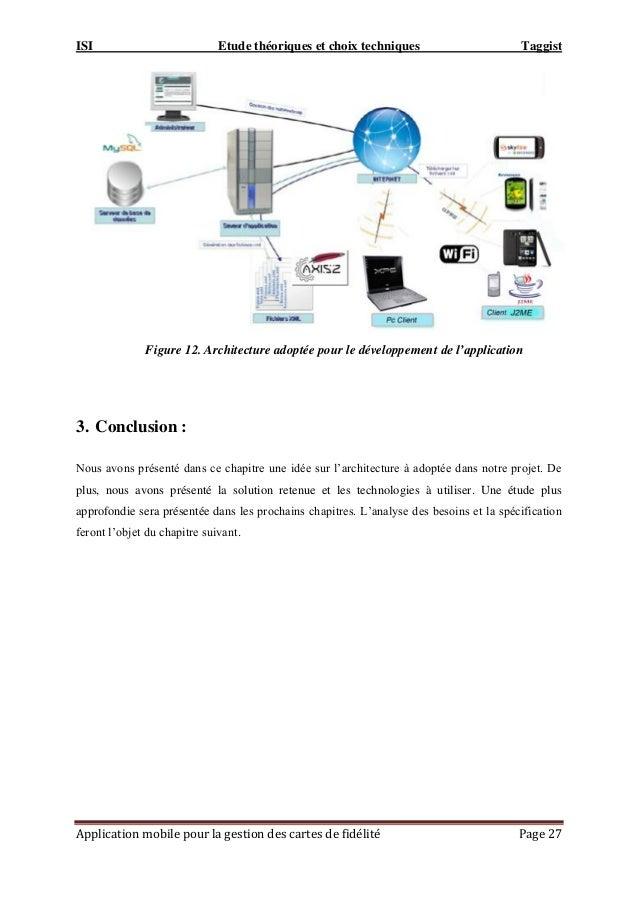 ISI Etude théoriques et choix techniques Taggist Application mobile pour la gestion des cartes de fidélité Page 27 Figure ...