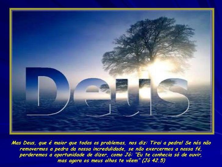 Deus Vai Te Dar A Resposta Agora No Salmo 37: Tirai A-pedra
