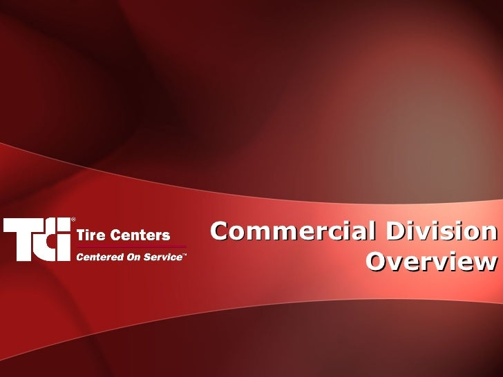 Commercial Division Overview
