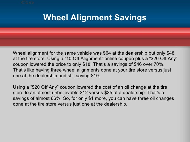 Tire Coupons Help Save Nearly 75%