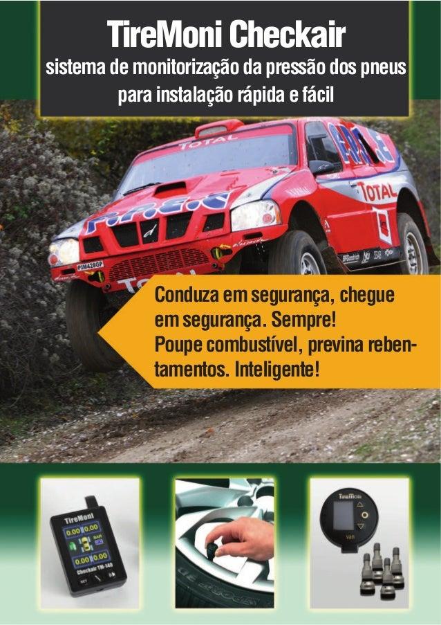 TireMoni Checkair  sistema de monitorização da pressão dos pneus para instalação rápida e fácil  Conduza em segurança, che...