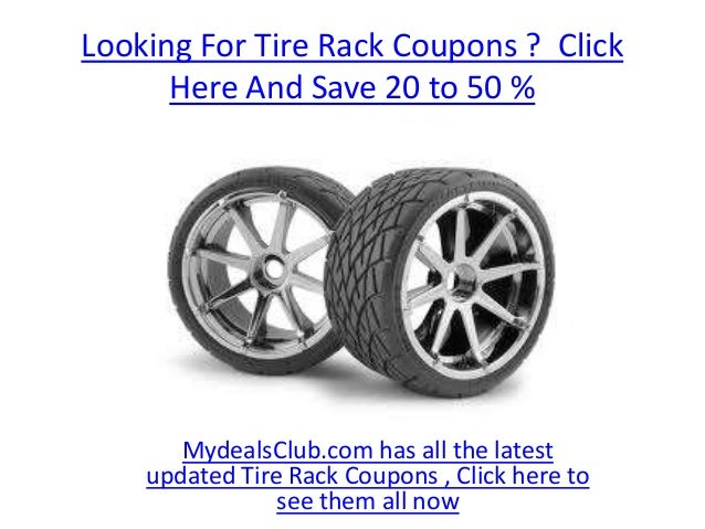 Tire Rack Coupon Code >> Tire Rack Coupon Code 2013 From Mydealsclub