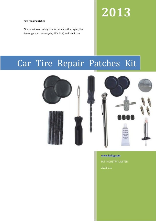 2013 Tire repair patches Tire repair seal mainly use for tubeless tire repair, like Passenger car, motorcycle, ATV, SUV, a...