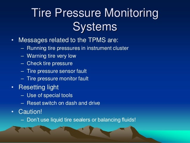Tire Pressure Monitor System Fault 2018 Dodge Reviews