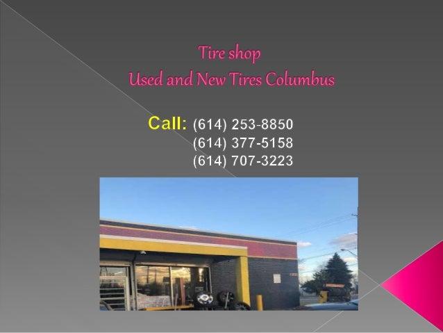 Used Tires Columbus Ohio >> Tire Shop Ohio