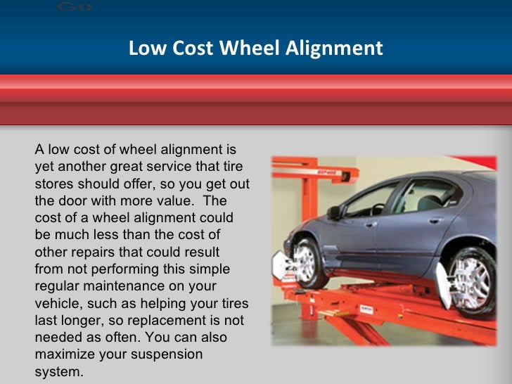 Wheel Alignment Cost >> Tire Stores And The Cost Of Wheel Alignment