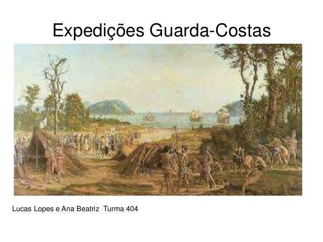 Expedições Guarda-Costas Lucas Lopes e Ana Beatriz Turma 404