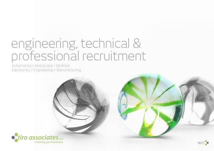 engineering, technical &professional recruitmentAutomotive / Aerospace / DefenceElectronics / Engineering / Manufacturing ...