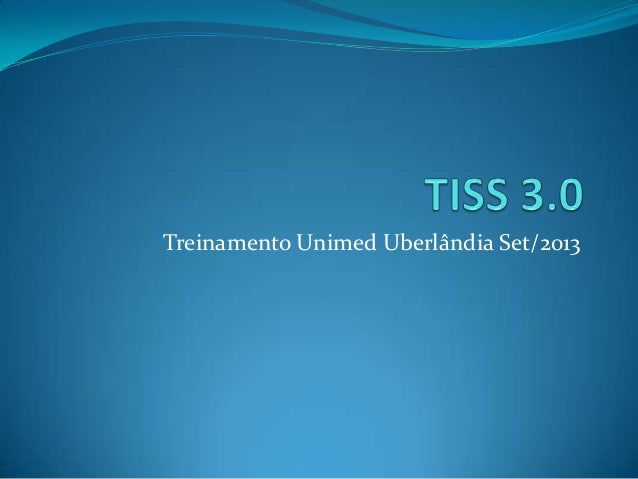 Treinamento Unimed Uberlândia Set/2013