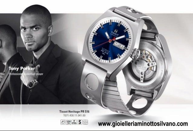 nuovi orologi tissot