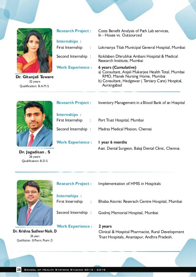 TISS Placement Brochure 2013 15