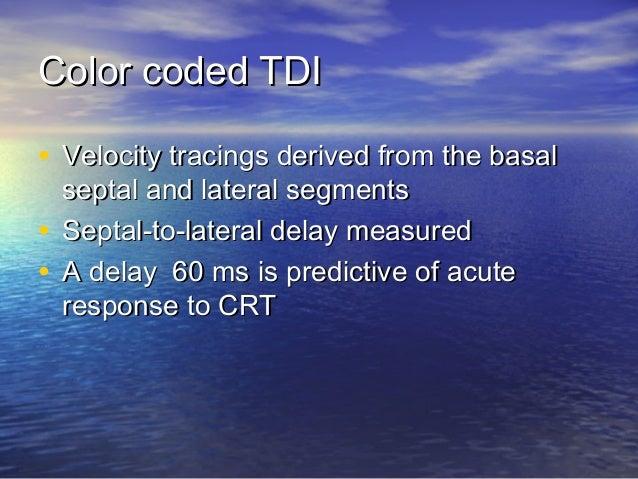 Tissue Doppler Imaging