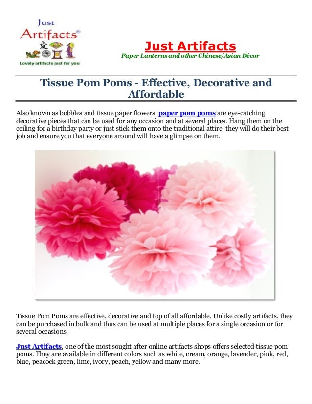 Tissue pom poms effective decorative and affordable just artifac tissue pom poms effective decorative and affordable also known as bobbles and tissue paper mightylinksfo