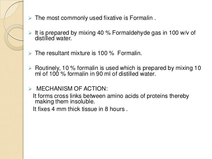 Other Simple Fixatives   Glutaraldehyde   Osmium Tetraoxide   Pottasium Dichromate   Mercuric Chloride