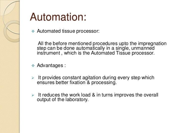 Tissue processing 2012
