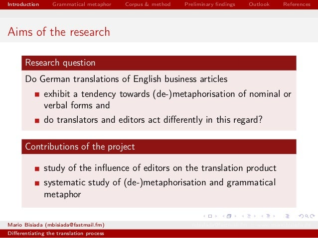 german interpretation with the help of articles