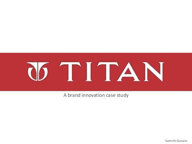 Samriti Gosain A brand innovation case study