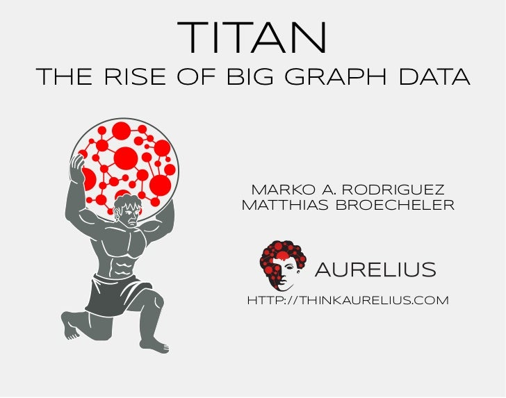TITANTHE RISE OF BIG GRAPH DATA             MARKO A. RODRIGUEZ            MATTHIAS BROECHELER            http://THINKAUREL...