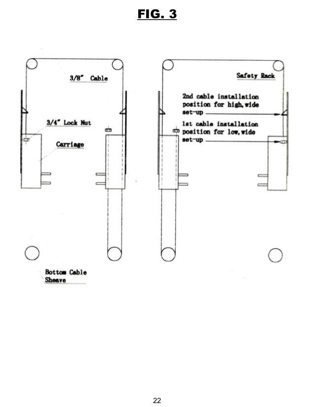 Titan hd2 p-11000ac-2-post-lift-manual