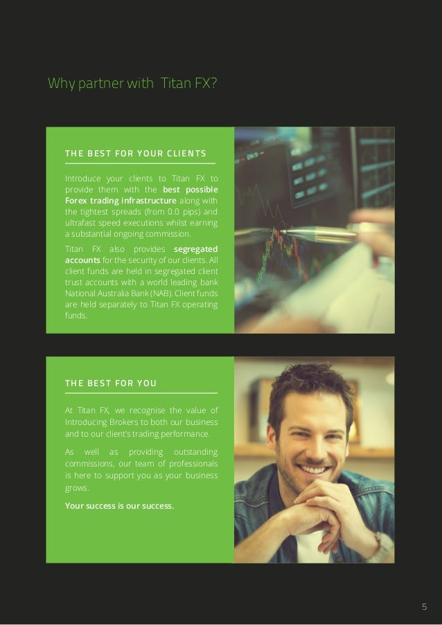 Forex introducing broker website design