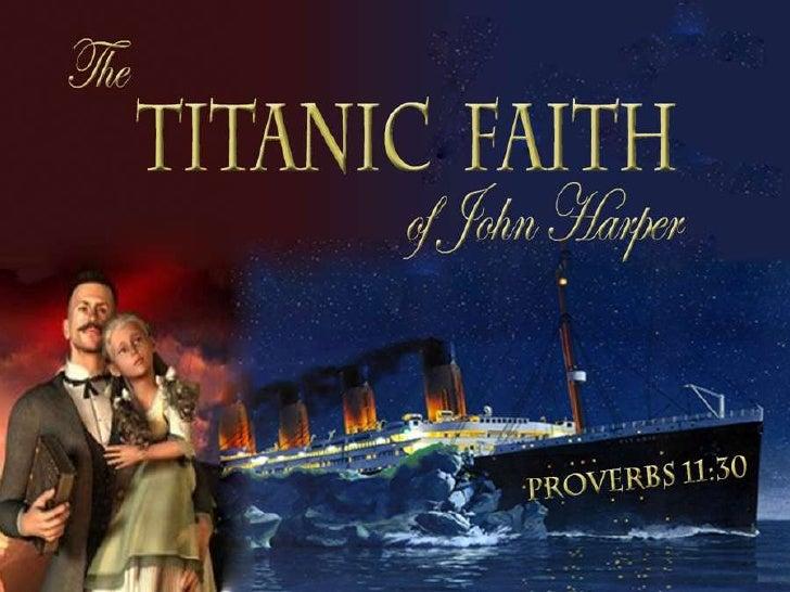 Titanic Faith of John Harper