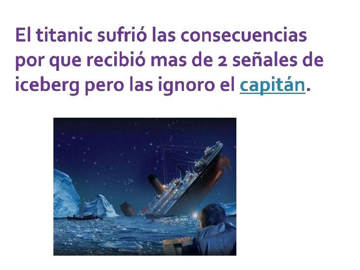 Titanic Slide 2