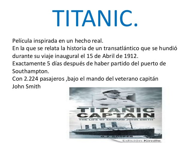 titanic copia