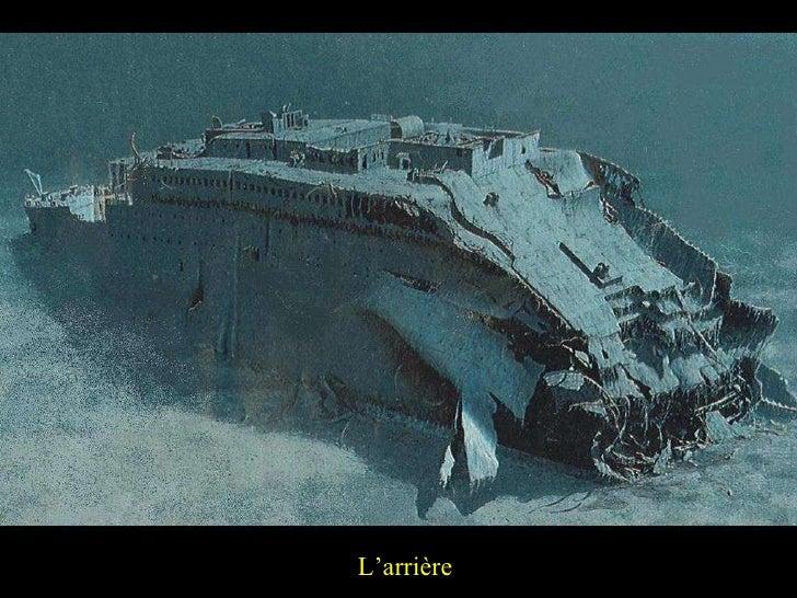 Titanic naufrage for Titanic epave interieur