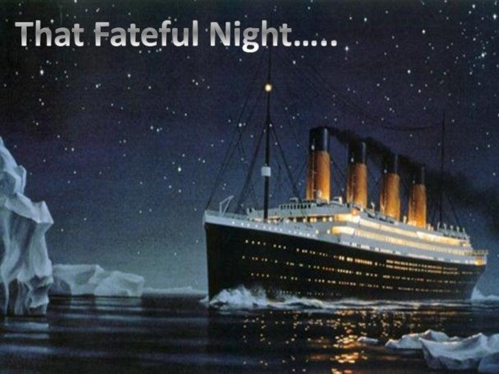 Titanic Presentation Main