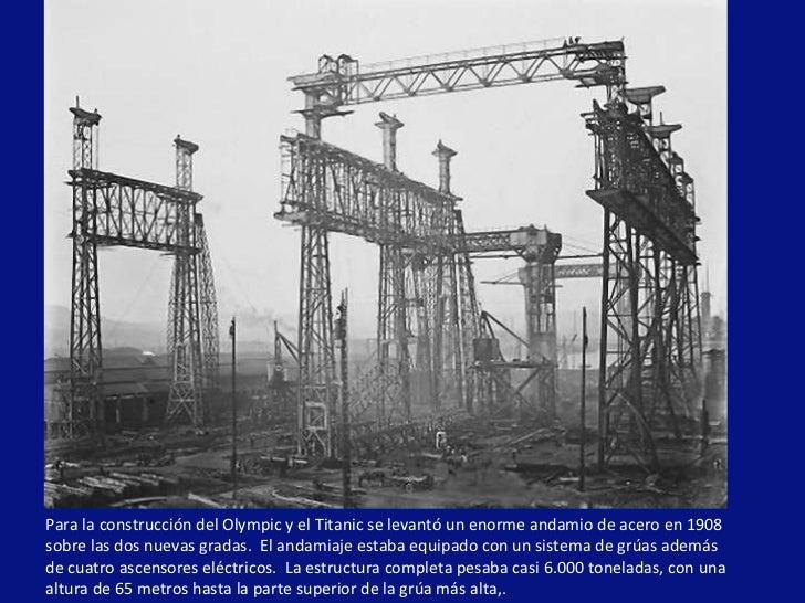 Nacimiento de una leyenda - Construccion del titanic ...
