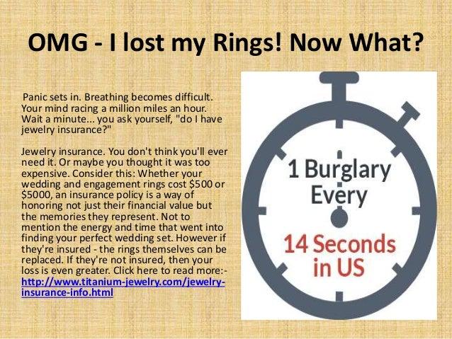 5 omg i lost - Lost Wedding Ring