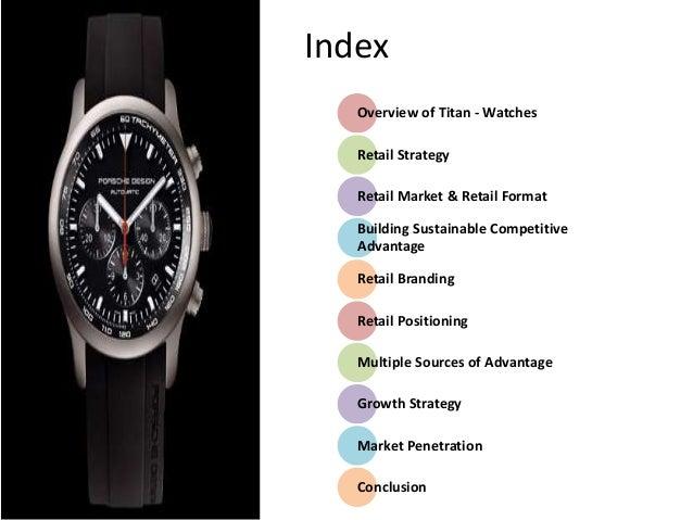 marketing strategy of titan watches pdf