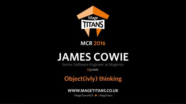 HelloWorld @Jcowie MagentoECG Mage-Casts Github:Jamescowie