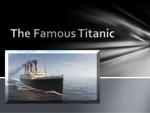 Built by the White Star Line 883 ft long 92 ft wide 46,328 tons 104 ft high 29 boilers 3 propellers 3 million rivets 16 wa...