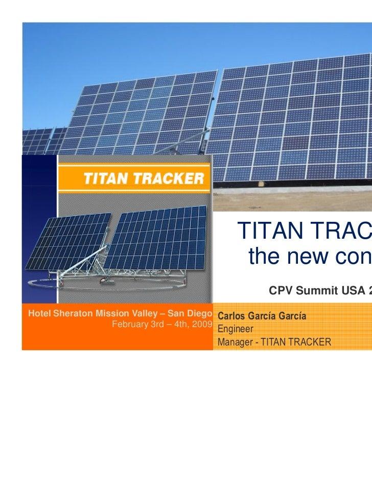 ( Área reservada a imagen )                                              TITAN TRACKER:                                   ...