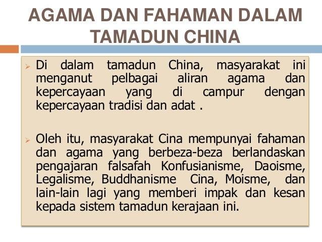 Agama Dan Fahaman Dalam Tamadun China