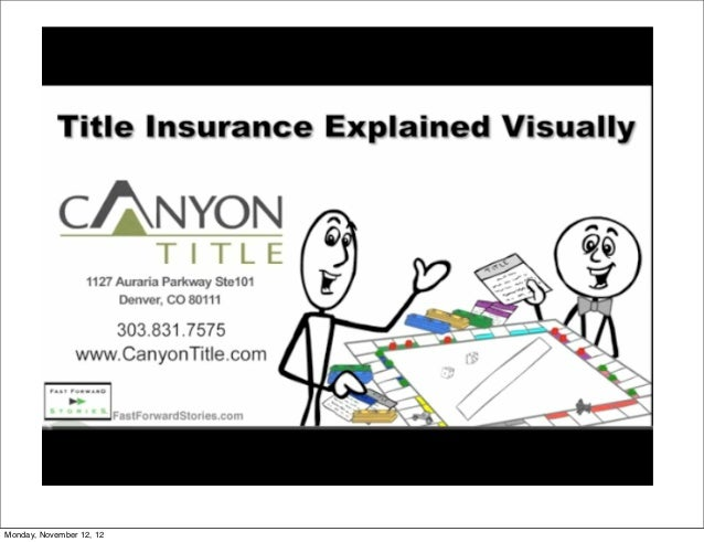 Title Insurance and Closing Process