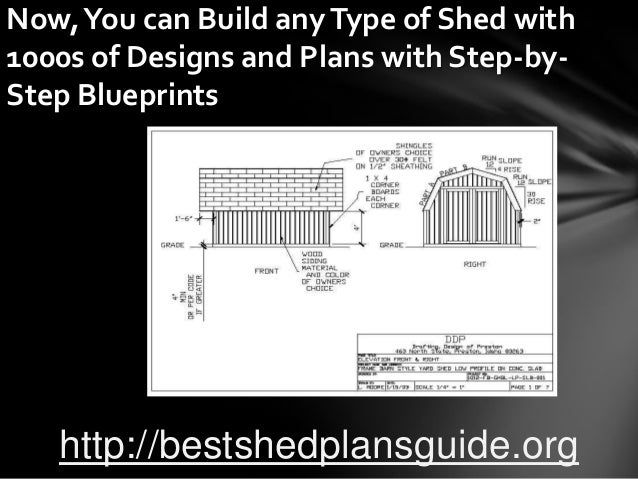 Design and build your own shed free plans for Design and build your own shed