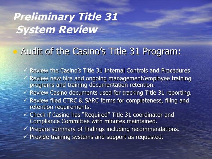 Casino audit programs new tulalip casino