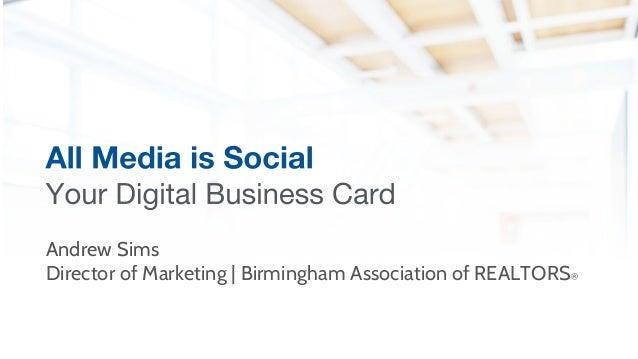 Andrew Sims Director of Marketing | Birmingham Association of REALTORS®
