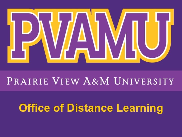 Office of Distance Learning