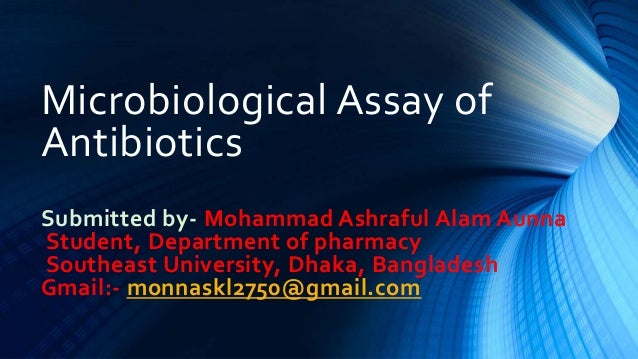 Microbiological assay of antibiotics with diagrams 🔬 youtube.