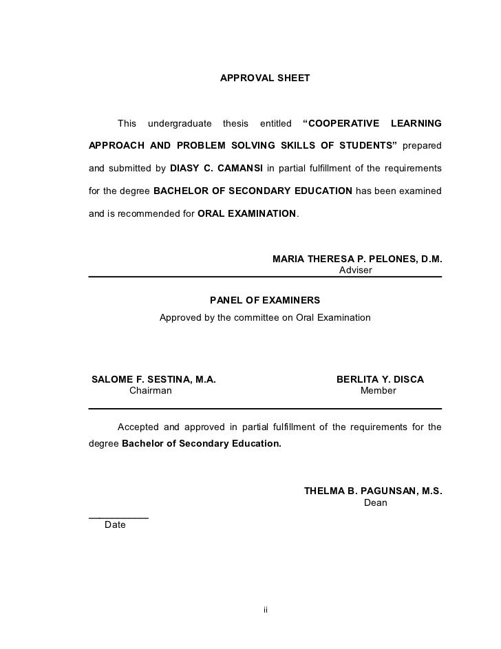 utk thesis approval form