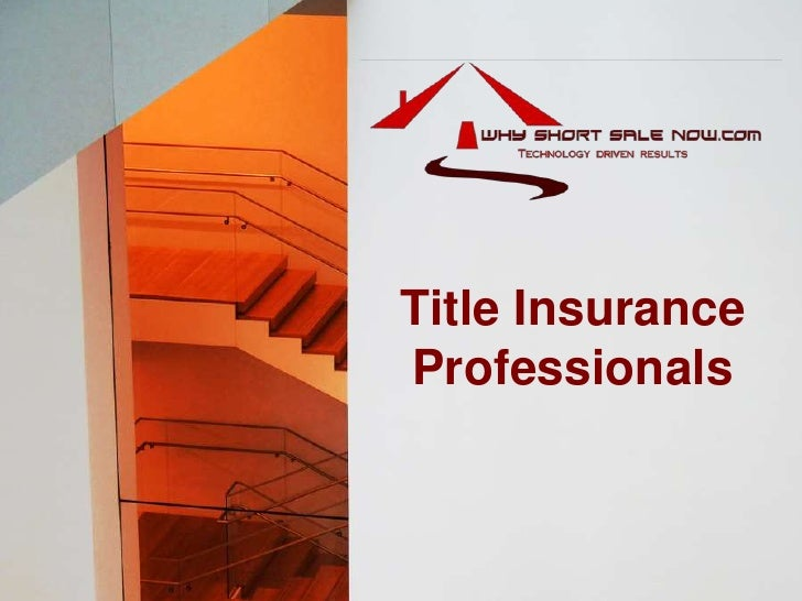 Title Insurance Professionals<br />