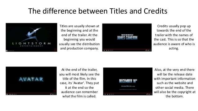 Großzügig Filmtrailer Credits Vorlage Zeitgenössisch - Beispiel ...
