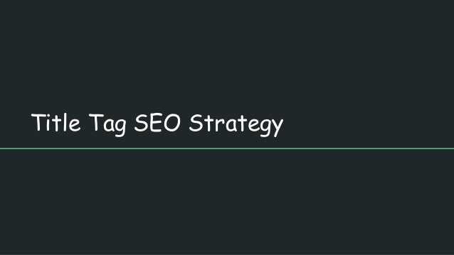How to Write Title Tags for SEO: 5 Best Practices