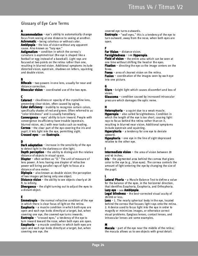 titmus v4 vision screener user manual rh slideshare net oyster vision instruction manual vision spinner instruction manual