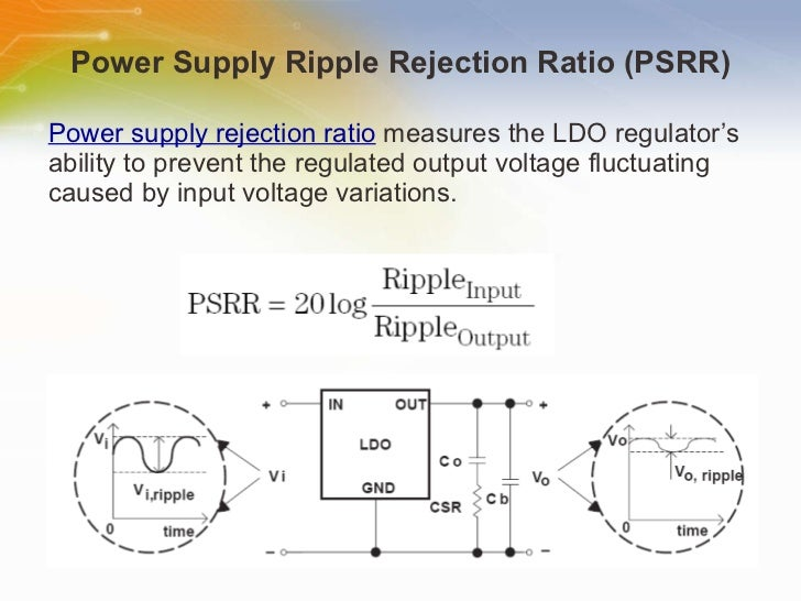 Adjustable Voltage Regulator Schematic With Improved Ripple Rejection
