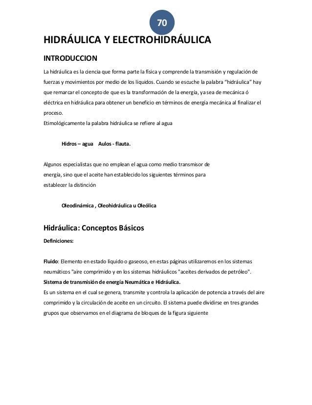 Ventajas y desventajas de la electrohidráulica